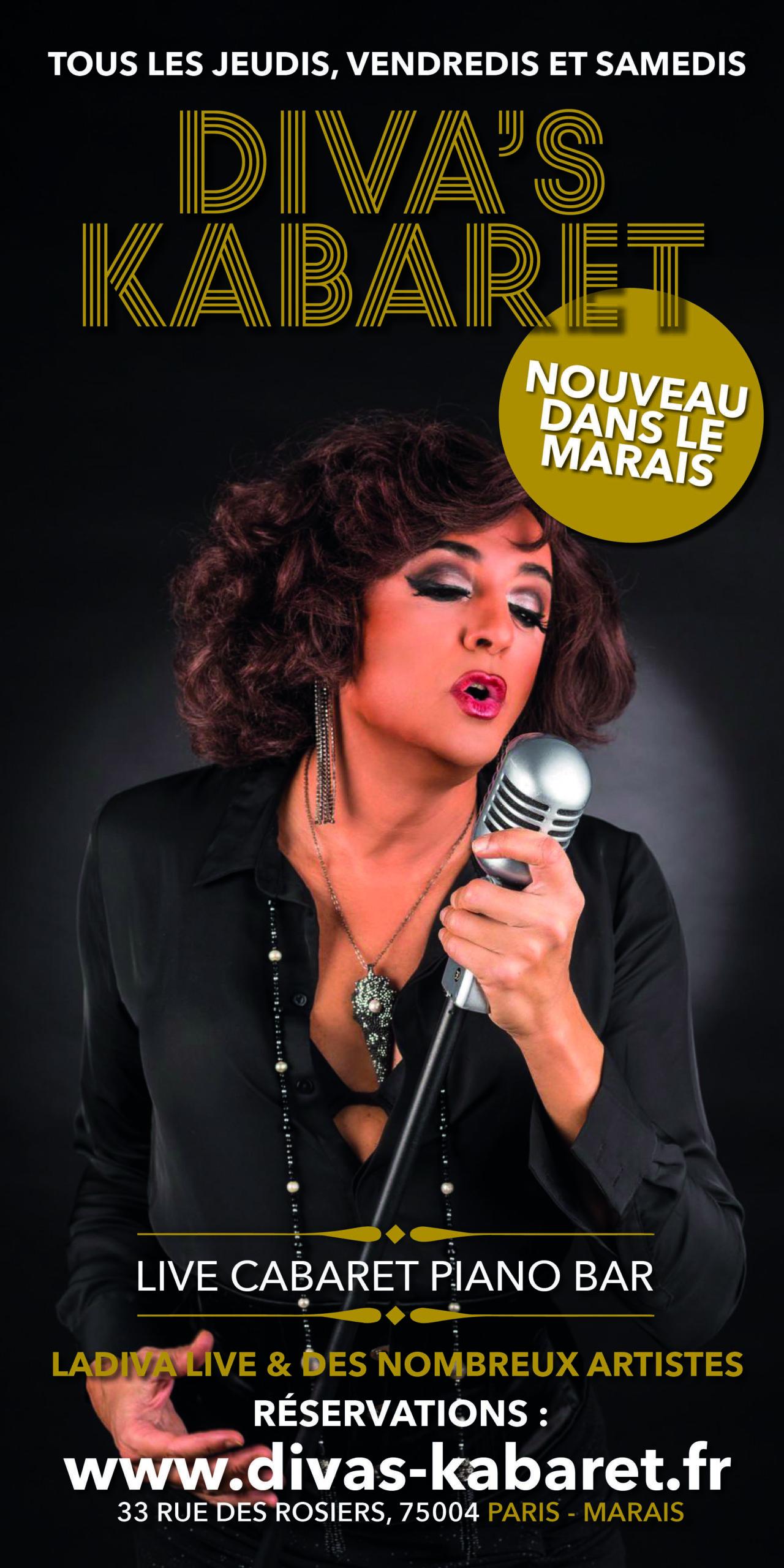 Le cabaret transformiste dans Le Marais à Paris